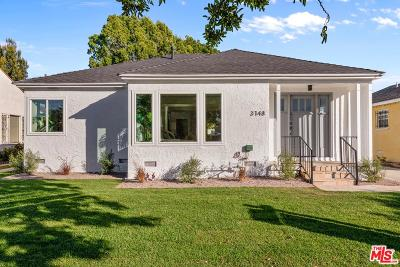 Los Angeles Single Family Home Active Under Contract: 3748 South Muirfield Road