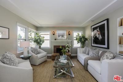 Burbank Single Family Home Active Under Contract: 914 North Buena Vista Street