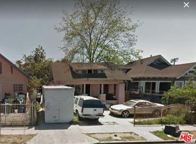 Single Family Home For Sale: 714 West 42nd Place