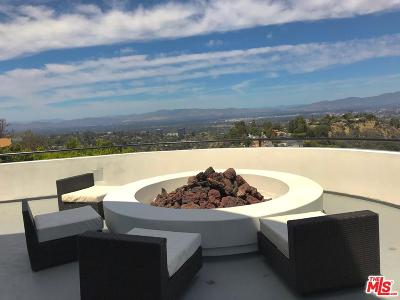 Los Angeles County Single Family Home For Sale: 15105 Mulholland Drive