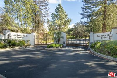 Thousand Oaks Single Family Home For Sale: 87 Pinecrest Road