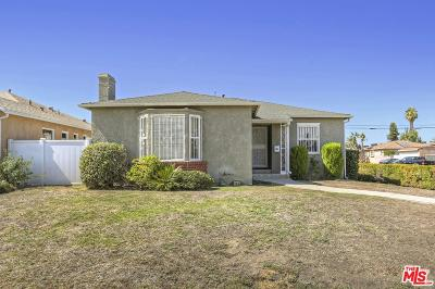 Los Angeles Single Family Home Active Under Contract: 1901 Stearns Drive