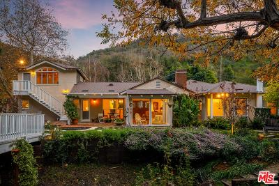 Los Angeles Single Family Home For Sale: 3473 Mandeville Canyon Road