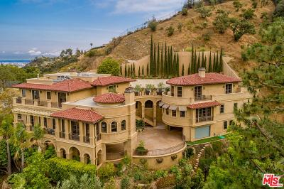 Single Family Home For Sale: 1744 Stone Canyon Road