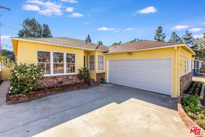Culver City Single Family Home Active Under Contract: 5431 Berryman Avenue