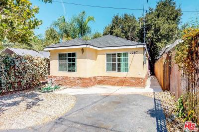 Tujunga Single Family Home For Sale: 7267 Las Plumas Lane