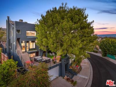 Pacific Palisades Single Family Home For Sale: 16571 Chattanooga Place