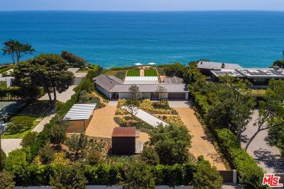 Malibu Single Family Home For Sale: 28868 Cliffside Drive