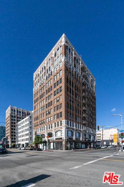Los Angeles Condo/Townhouse For Sale: 315 East 8th Street #603