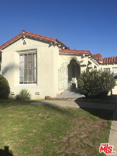 Los Angeles Single Family Home For Sale: 9126 South Denker Avenue