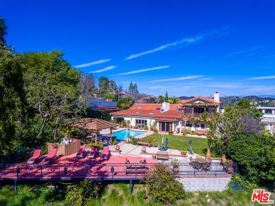 Los Angeles County Single Family Home For Sale: 1363 Stradella Road