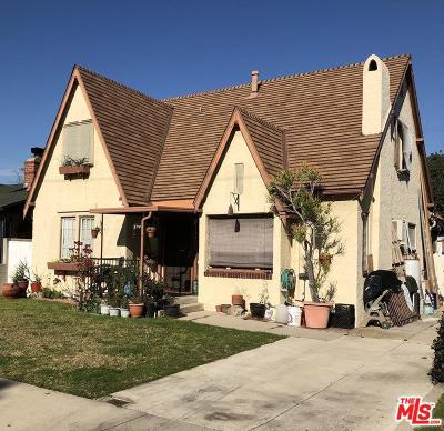 Los Angeles County Single Family Home Active Under Contract: 3744 Military Avenue