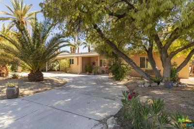 Palm Desert Single Family Home Active Under Contract: 74265 Fairway Drive