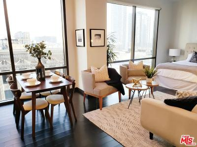 Los Angeles Condo/Townhouse For Sale: 655 South Hope Street #1403