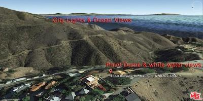 Malibu Residential Lots & Land For Sale: 4360 Hillview Drive
