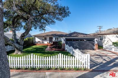 Burbank Single Family Home Active Under Contract: 2757 North Lamer Street