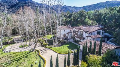 Calabasas CA Single Family Home For Sale: $12,999,000