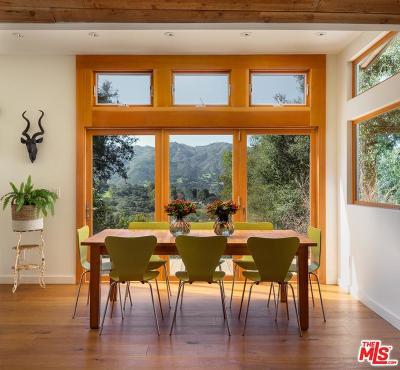 Topanga Single Family Home For Sale: 20774 Hillside Drive