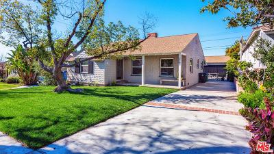 Burbank Single Family Home For Sale: 2747 North Lincoln Street