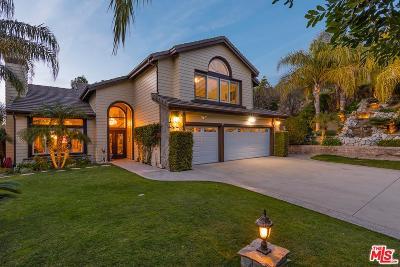 Thousand Oaks Single Family Home For Sale: 1623 Shadow Oaks Place