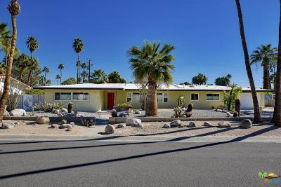 Palm Springs Single Family Home For Sale: 402 North Sunset Way