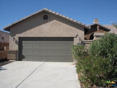 Desert Hot Springs Single Family Home Active Under Contract: 13135 Maui Way