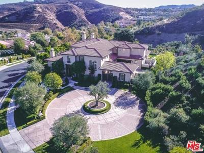 Calabasas Single Family Home For Sale: 25400 Prado De Las Fresas
