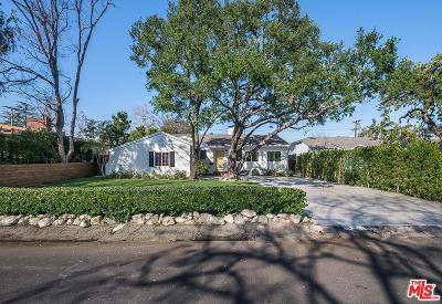 Studio City Single Family Home For Sale: 12349 Milbank Street