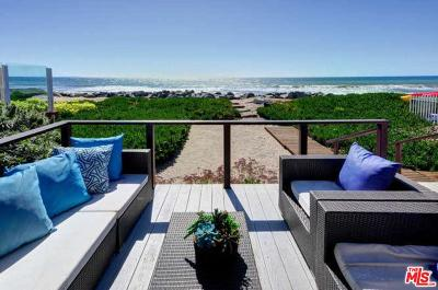 Malibu Single Family Home Active Under Contract: 31330 Broad Beach Road