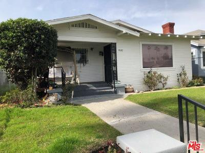 Los Angeles Single Family Home For Sale: 5227 Ruthelen Street