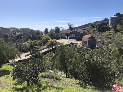 Los Angeles County Single Family Home For Sale: 33210 Decker School Road