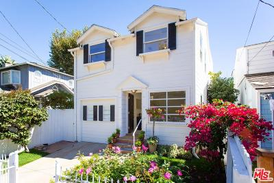 Santa Monica Single Family Home For Sale: 214 West Channel Road
