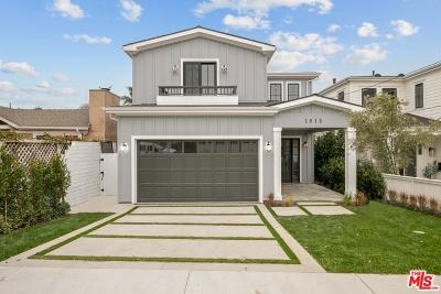 Manhattan Beach Single Family Home Active Under Contract: 1813 Oak Avenue