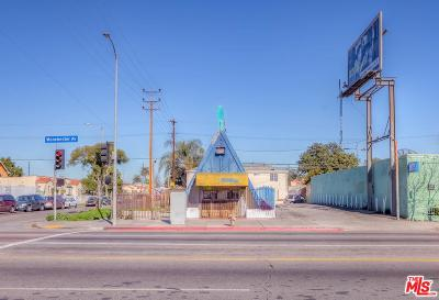 Los Angeles Single Family Home For Sale: 803 East Manchester Avenue