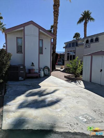 Mobile Home Active Under Contract: 69801 Ramon Road #53
