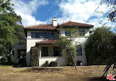 Pasadena Single Family Home For Sale: 2481 Vista Laguna Terrace