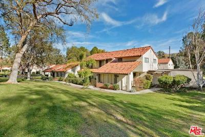Agoura Hills Condo/Townhouse Active Under Contract: 4017 Liberty Canyon Road