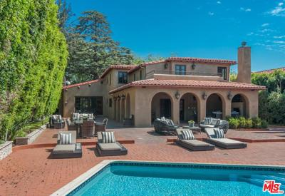 Beverly Hills Rental For Rent: 703 North Alpine Drive