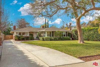 Pasadena Single Family Home For Sale: 3952 East California
