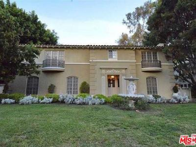 Hancock Park-Wilshire (C18) Single Family Home For Sale: 626 South Plymouth