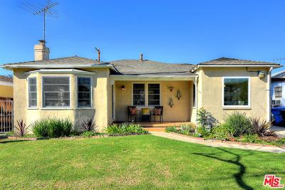 Culver City Single Family Home For Sale: 10921 Pickford Way