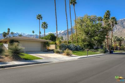 Palm Springs Single Family Home For Sale: 1033 East Sierra Way