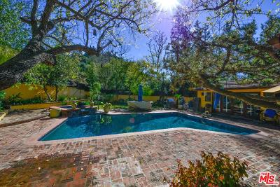 Beverly Hills Single Family Home Active Under Contract: 2500 Benedict Canyon Drive