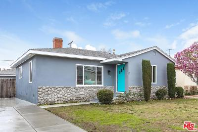 Culver City Single Family Home For Sale: 4833 Beloit Avenue