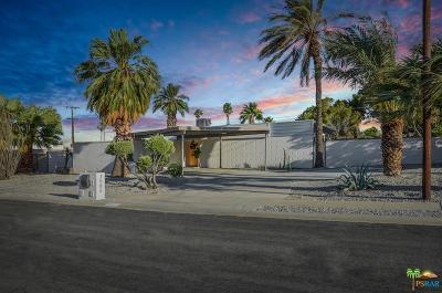 Palm Springs Single Family Home For Sale: 3585 East Camino Rojos