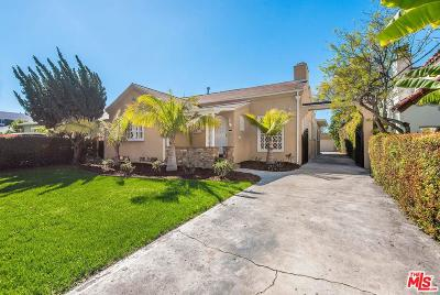 Los Angeles CA Single Family Home Active Under Contract: $1,599,000