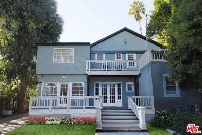 Single Family Home For Sale: 1516 North Fairfax Avenue