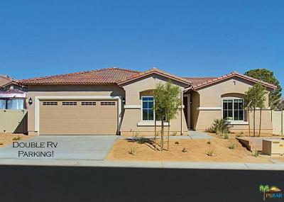 Desert Hot Springs Single Family Home Active Under Contract: 64334 Silver Star Avenue Avenue