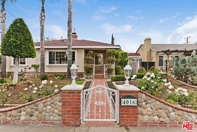 Culver City Single Family Home For Sale: 4016 Albright Avenue