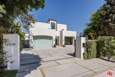 Single Family Home For Sale: 12509 West Sunset Boulevard